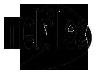 kobi, e-kobi, piktogram tworzywa MelFlex  stosowanego w buwiu marki MELISSA