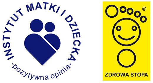 kobi, e-kobi, ikona Instytutu Matki i Dziecka oraz znaku Zdrowa Stopa