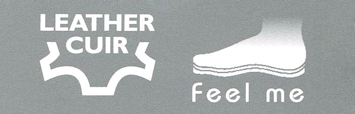 kobi, e-kobi, piktogram wkładki Feel Me, Leather Cuir firmy Marco Tozzi