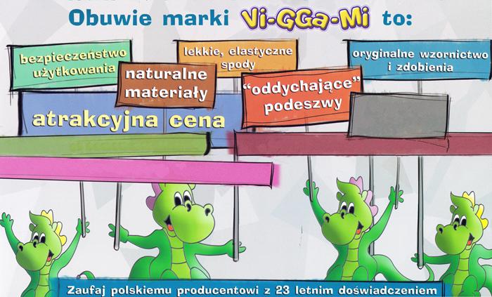 kobi, e-kobi, graficzne przedstawienie zalet obuwia VIGGaMi