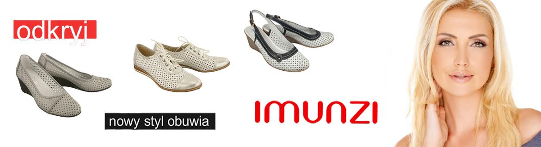 kobi, e-kobi, obuwie z kolekcji marki IMUNZI, baner