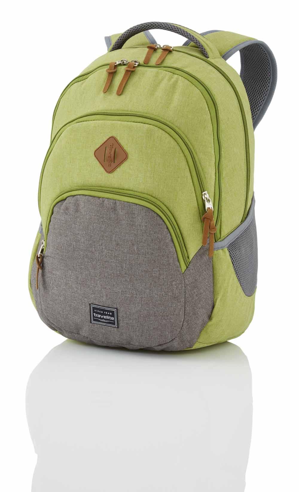 96308 TRAVELITE BASICS Plecak Uniwersalny 22L Grün/Grau, zdjęcie szczegółu