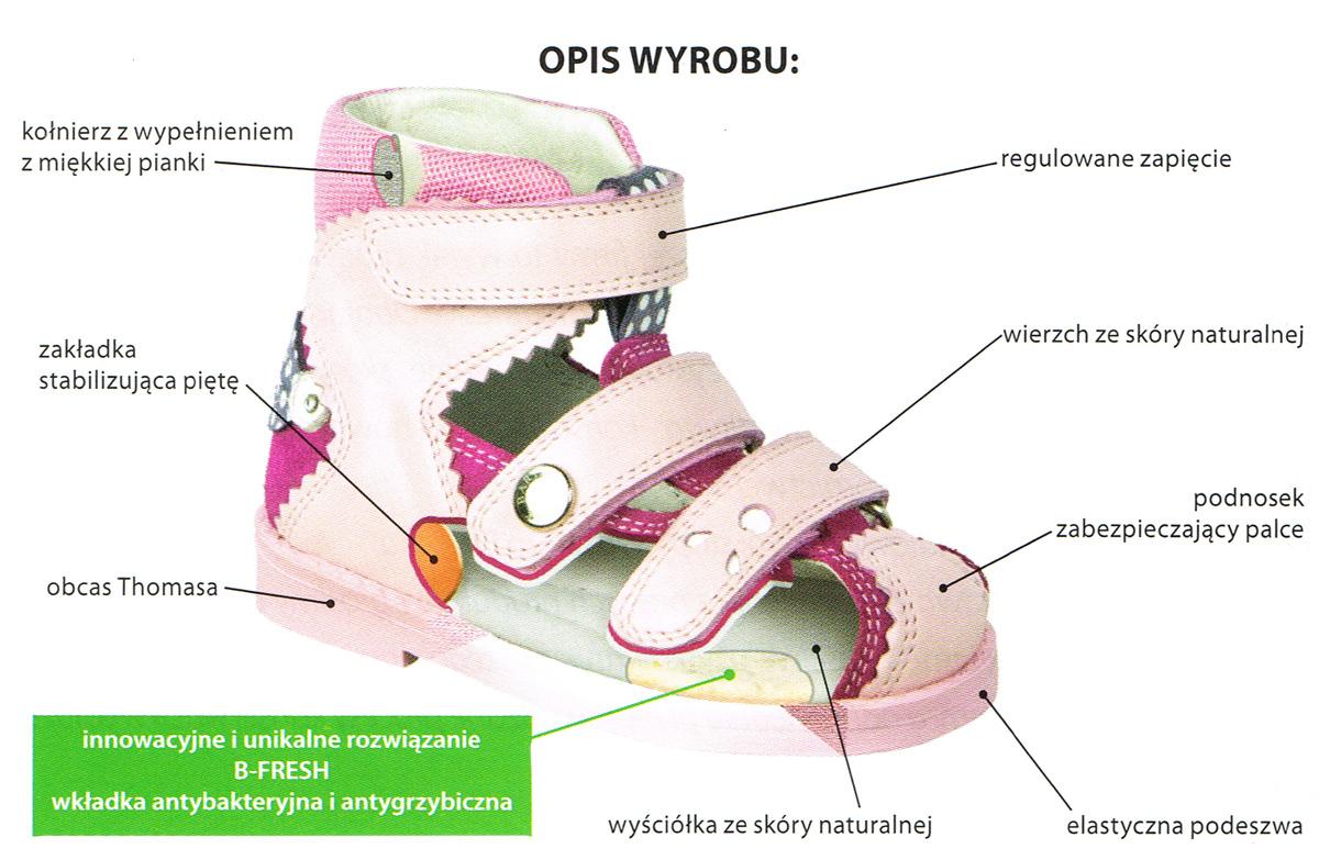 kobi, e-kobi, opis budowy butaów profilaktycznych firmy BARTEK
