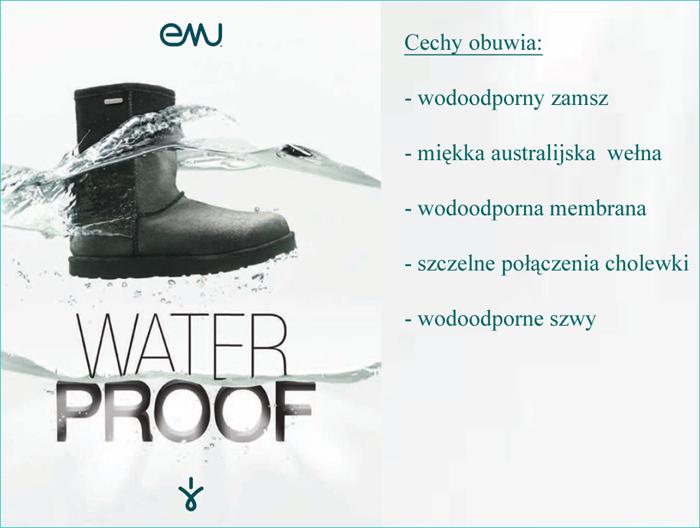 kobi, e-kobi, EMU WATERPROOF, opis