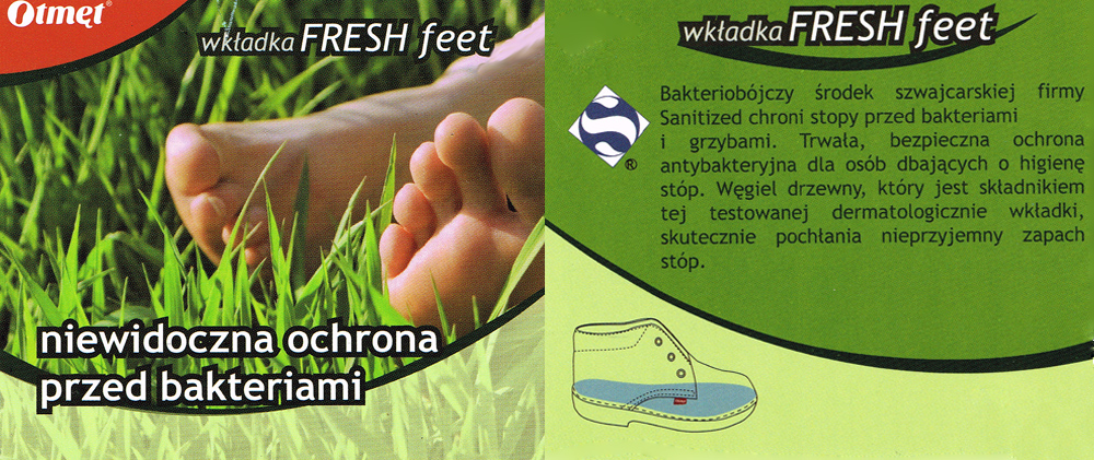 kobi, e-kobi, Otmęt wkłądka Fresh Feet, opis