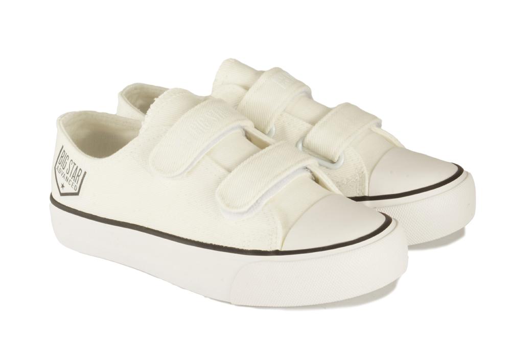 BIG STAR FF374061 biały, półtrampki dziecięce, rozmiary 28-35, sklep internetowy e-kobi.pl