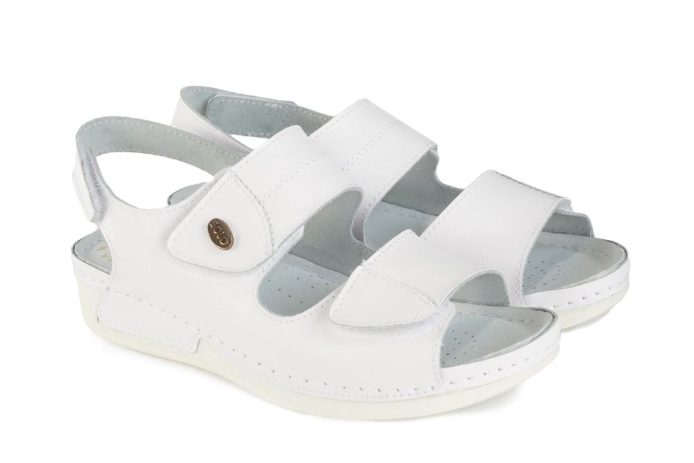 SOLO 0165 biały, sandały damskie, sklep internetowy e-kobi.pl