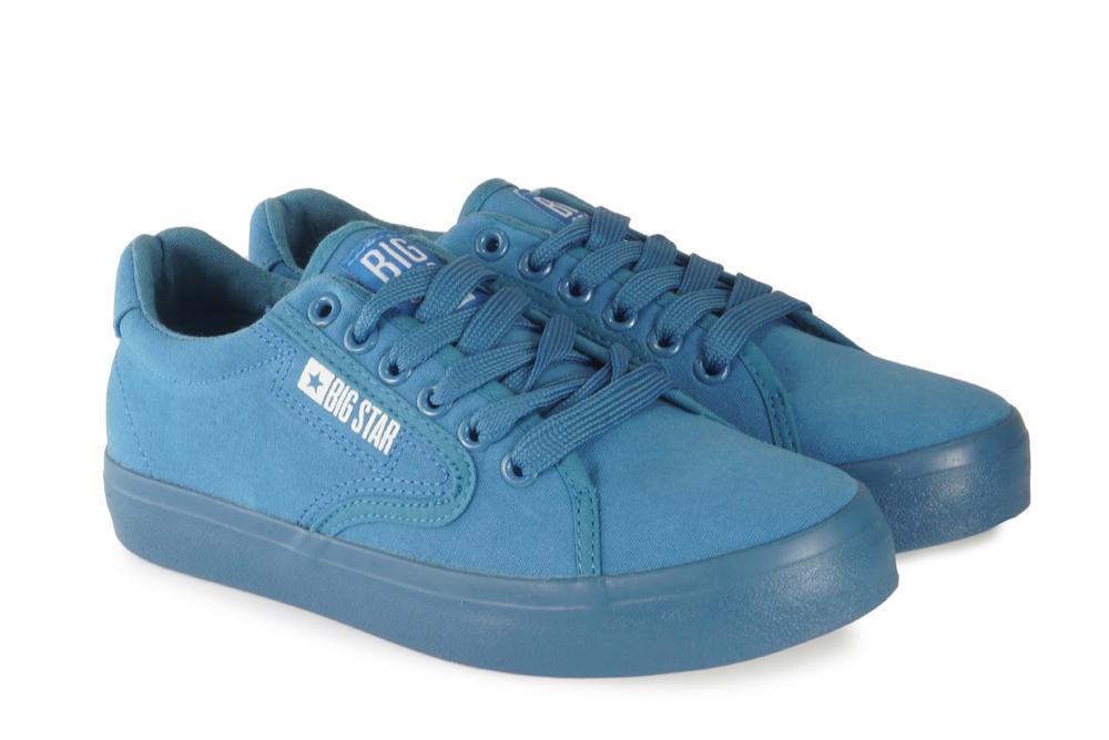 BIG STAR FF274A181 niebieski, póltrampki damskie, sklep internetowy e-kobi.pl