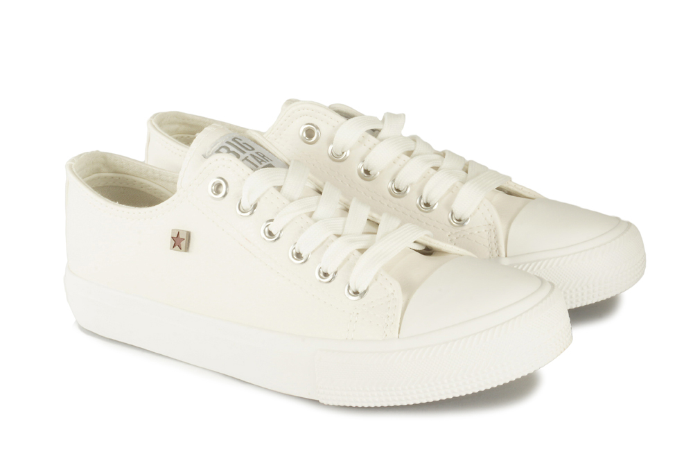 BIG STAR V274869 biały, póltrampki damskie, sklep internetowy e-kobi.pl