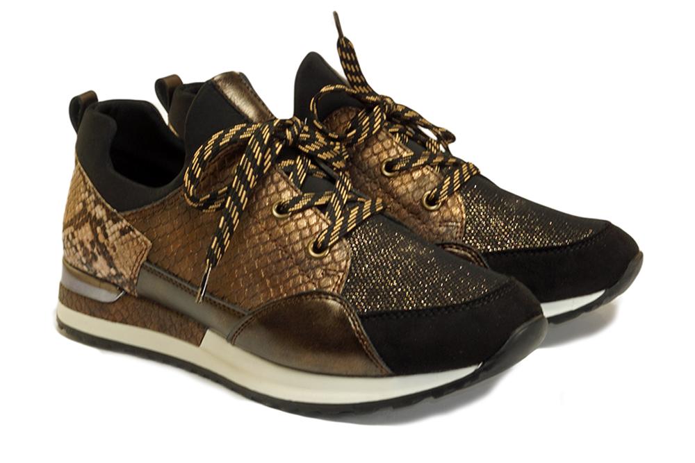 RIEKER REMONTE R2503-24 brown combination, półbuty/sneakersy damskie, sklep internetowy e-kobi.pl