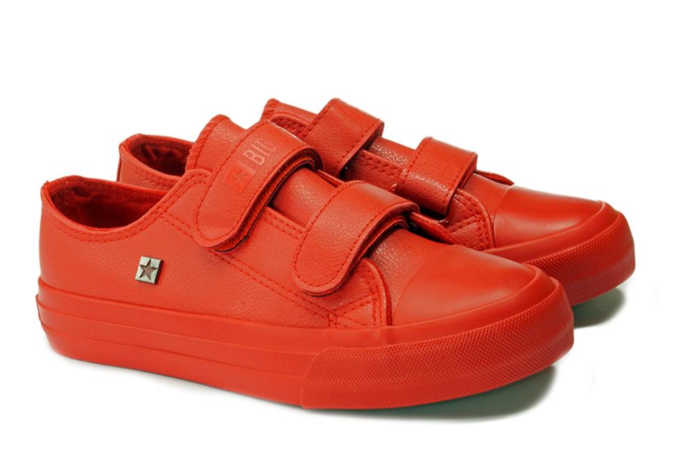 BIG STAR GG374012 czerwony, półbuty dziecięce, rozmiary 30-35, sklep internetowy e-kobi.pl