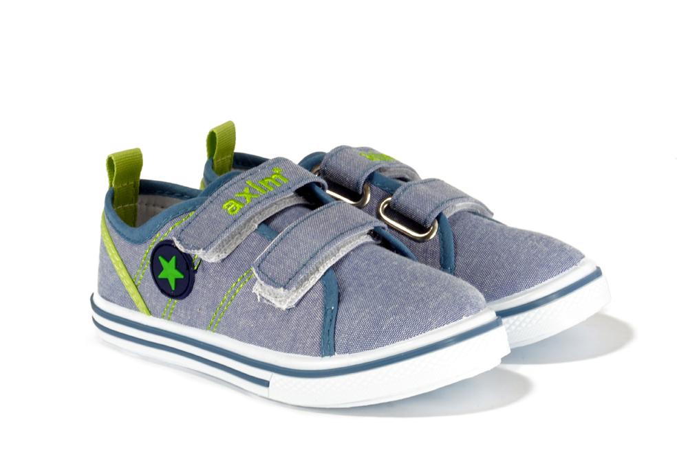 AXIM 1TE28520 niebieski, tenisówki dziecięce, rozmiary 19-24, sklep internetowy e-kobi.pl