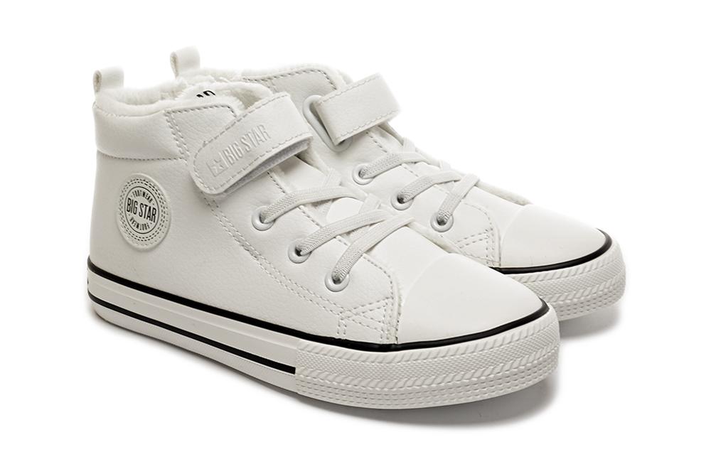 BIG STAR GG374033 biały, trzewiki, trampki dziecięce, rozmiary 30-35, sklep internetowy e-kobi.pl