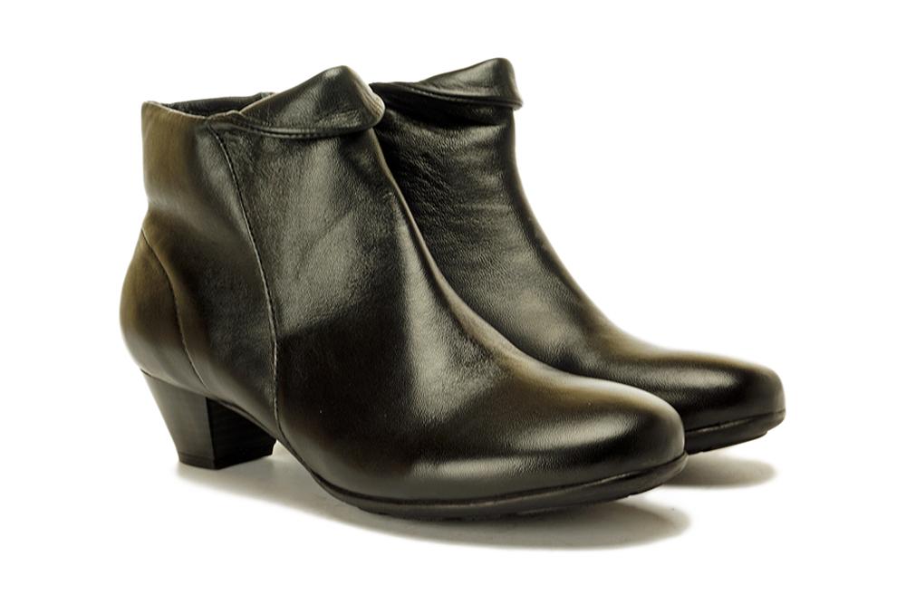 LANQIER 39C726 black, botki damskie, sklep internetowy e-kobi.pl