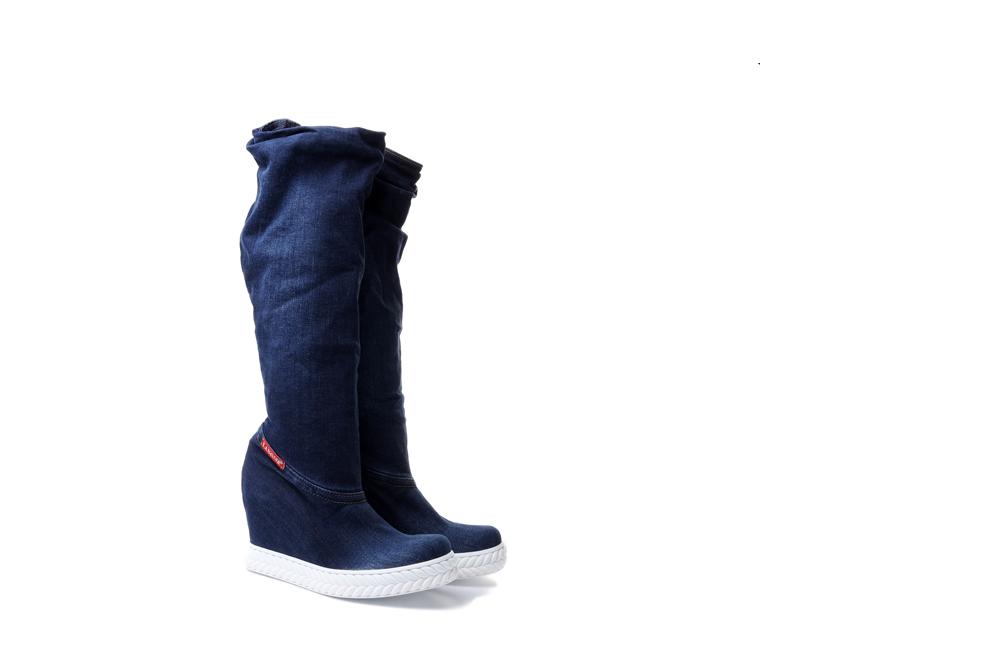 LANQIER 41C210 jeans, kozaki damskie, sklep internetowy e-kobi.pl