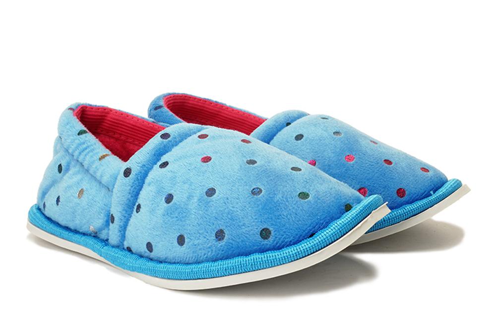 AXIM 3P20248 niebieski, kapcie dziecięce, rozmiary 24-, sklep internetowy e-kobi.pl
