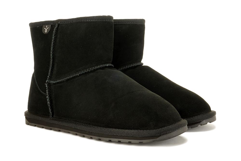 EMU AUSTRALIA T10103 WALLABY MINI TEENS black, botki damskie, sklep internetowy e-kobi.pl