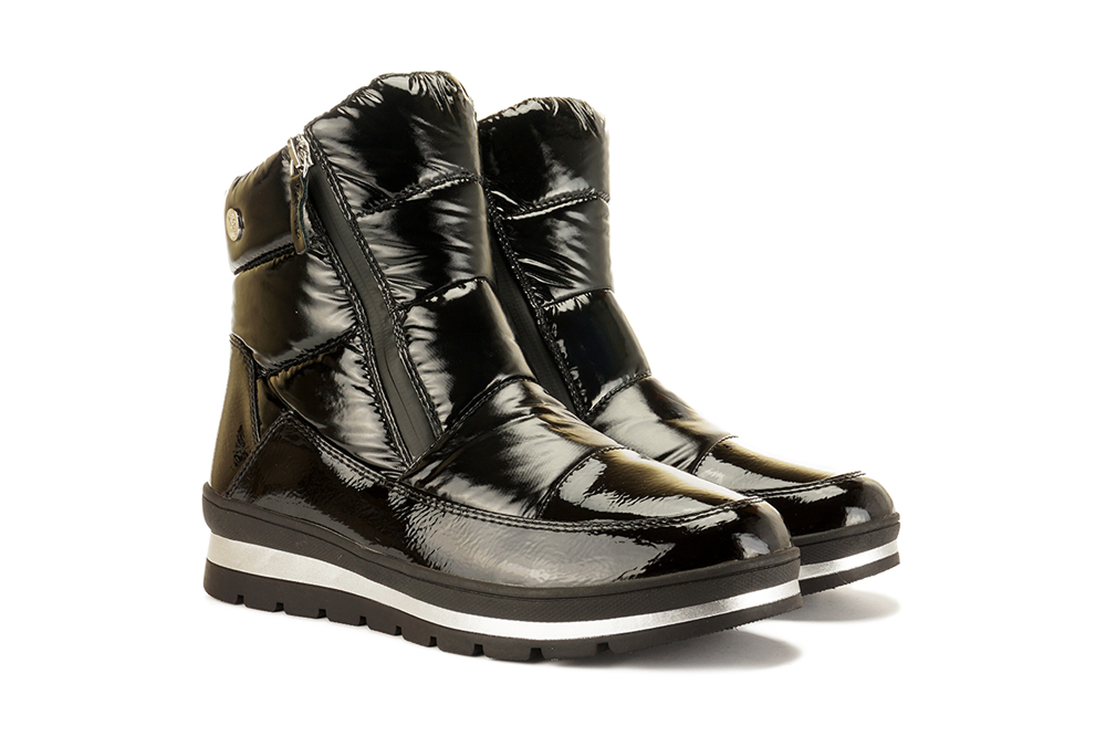 CAPRICE 26411-25 black combination, śniegowce damskie, sklep internetowy e-kobi.pl