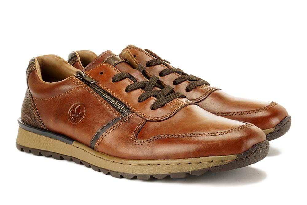 RIEKER B2510-26 brown, półbuty męskie, sklep internetowy e-kobi.pl