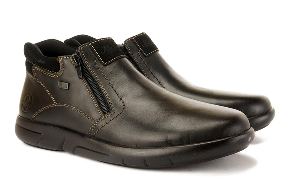 RIEKER B2792-00 black, botki męskie, sklep internetowy e-kobi.pl