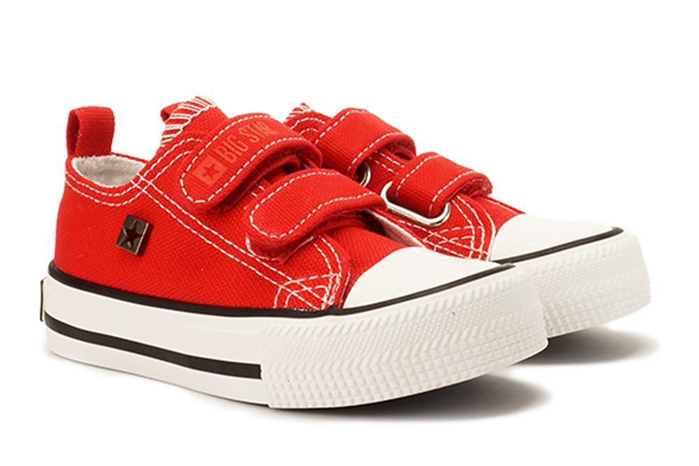 BIG STAR HH374202 czerwony, półtrampki dziecięce, sklep internetowy e-kobi.pl