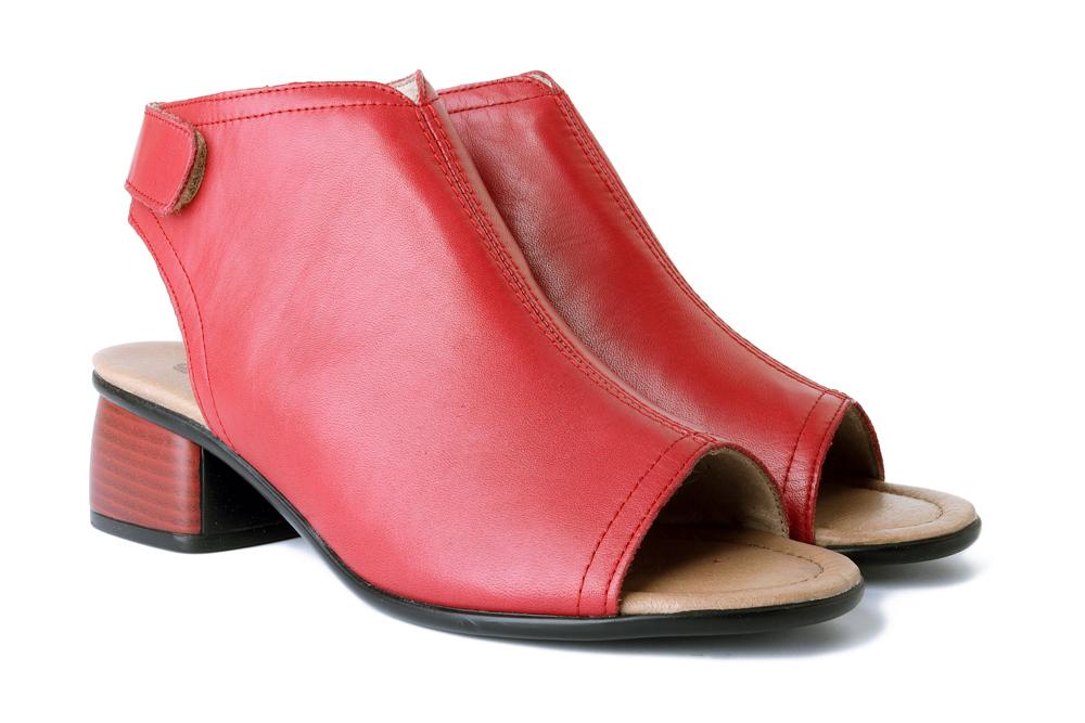 RIEKER REMONTE R8770-33 red, sandały damskie, sklep internetowy e-kobi.pl