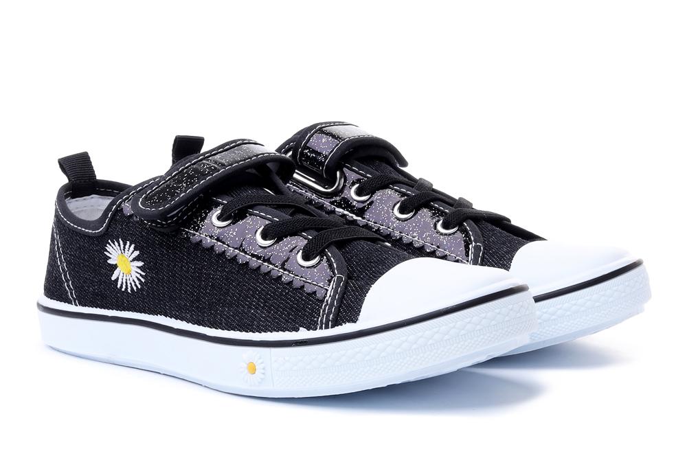 AXIM 5TE20521 czarny, tenisówki dziecięce, rozmiary 19-, sklep internetowy e-kobi.pl
