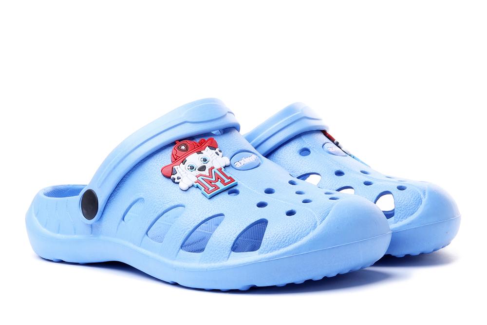 AXIM 4K3802 blue, klapki, croksy dziecięce, rozmiary 22-, sklep internetowy e-kobi.pl