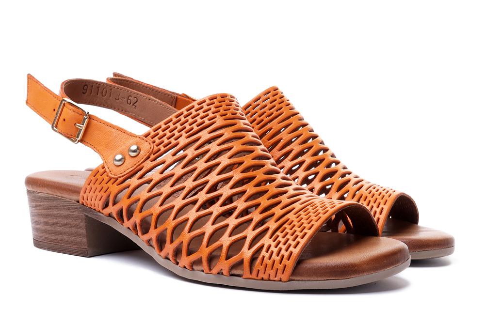 PIAZZA 911013-62 orange, sandały damskie, sklep internetowy e-kobi.pl
