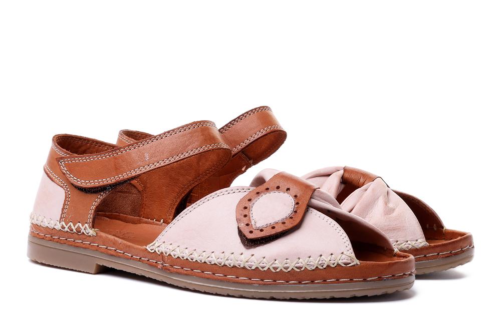MANITU 910006-42 rosa, sandały damskie, sklep internetowy e-kobi.pl