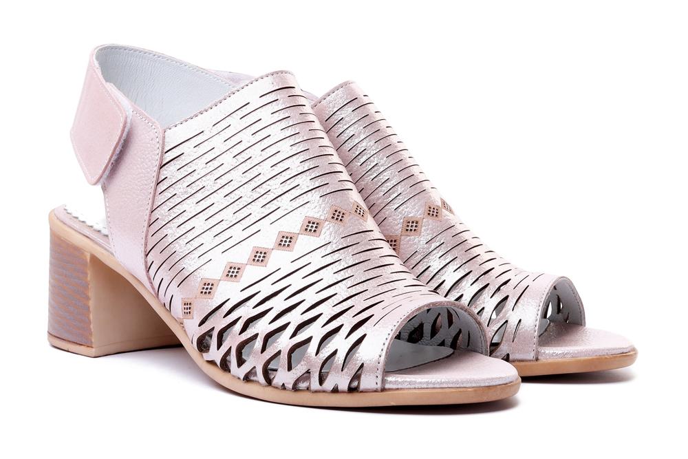 LANQIER 42C698 pink, sandały damskie, sklep internetowy e-kobi.pl