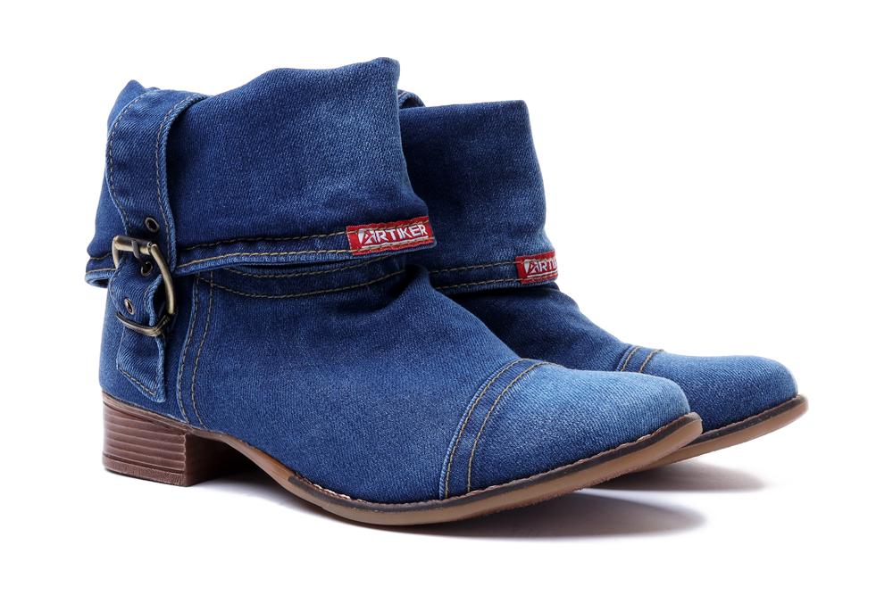 ARTIKER RELAKS 40C0201 jeans, botki damskie, sklep internetowy e-kobi.pl