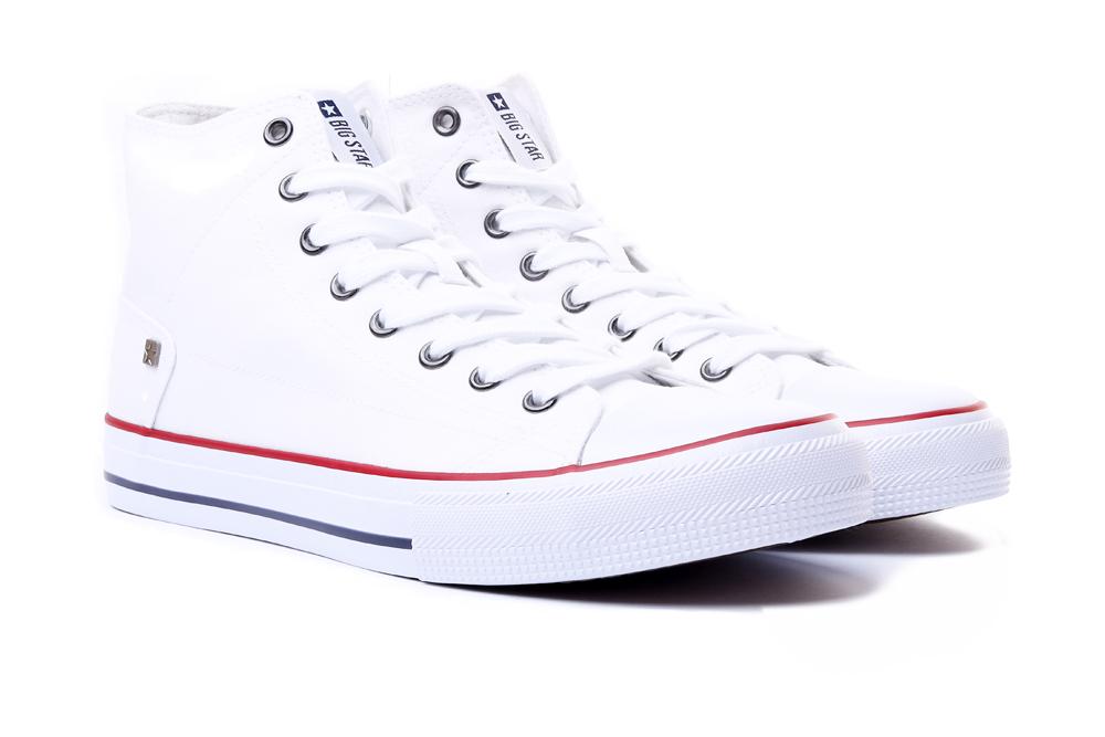 BIG STAR DD174251 biały, trampki męskie, sklep internetowy e-kobi.pl