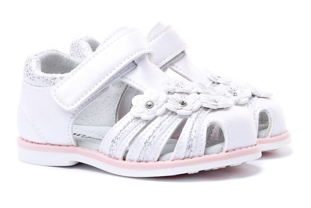 WOJTYŁKO 2S41021 biały, sandały dziecięce, sklep internetowy e-kobi.pl