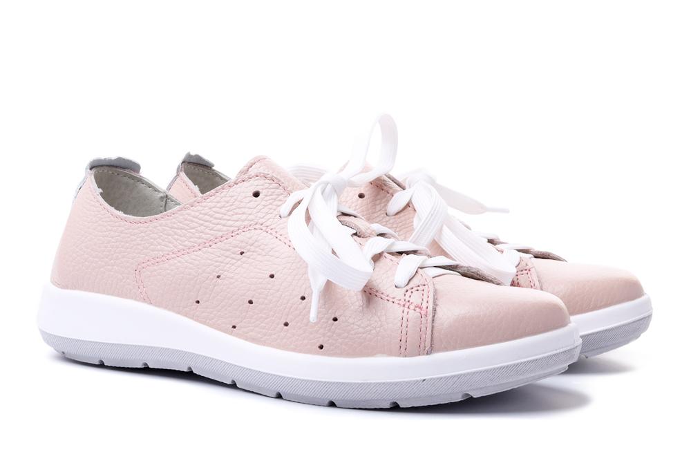 BEFADO DR ORTO 156D 012 różowo-biały, półbuty profilaktyczne damskie, sklep internetowy e-kobi.pl