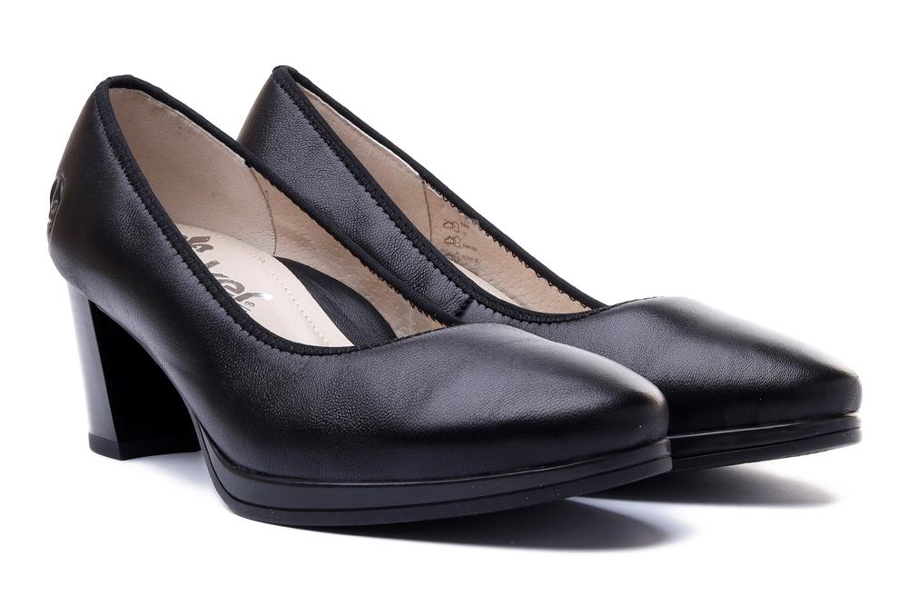 RIEKER 49560-00 black, czółenka damskie, sklep internetowy e-kobi.pl
