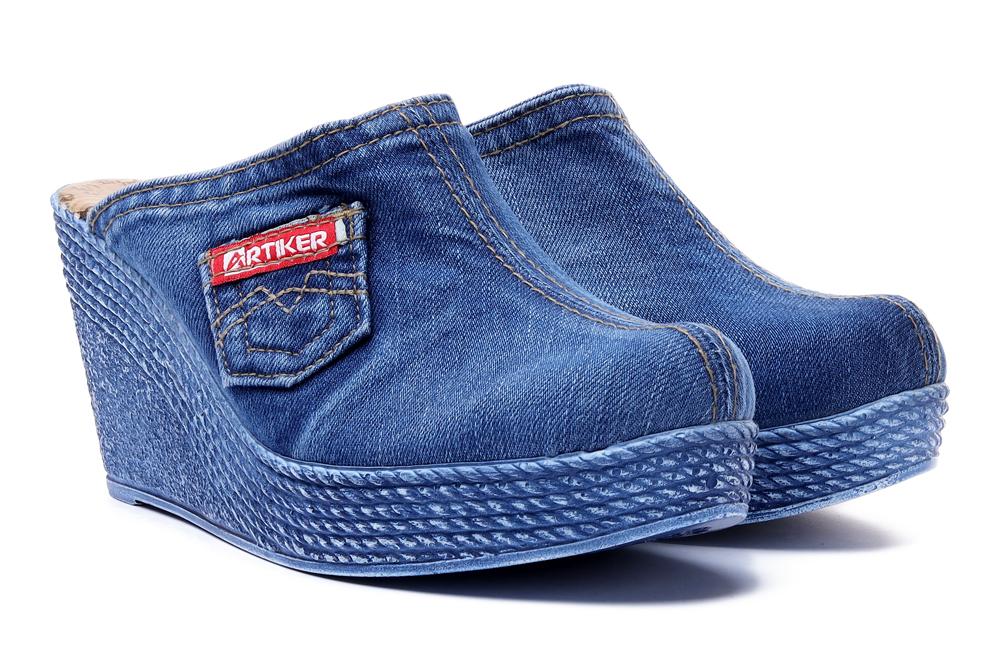 ARTIKER RELAKS 40C0232 jeans, klapki damskie, sklep internetowy e-kobi.pl
