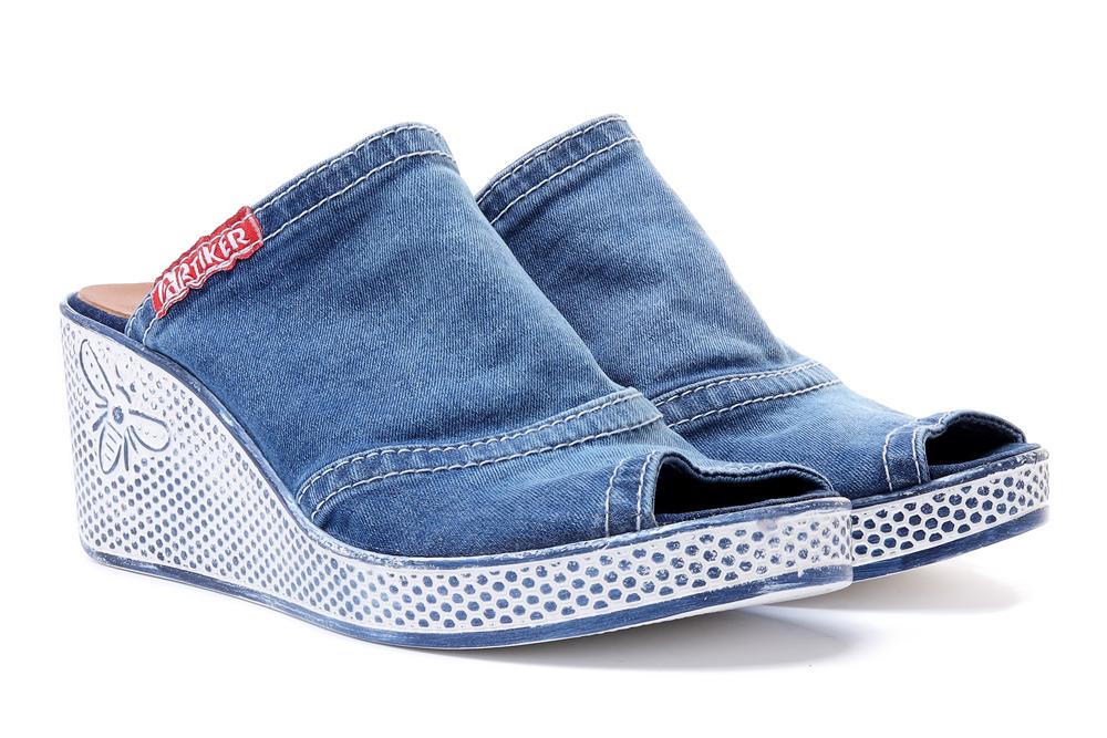 ARTIKER RELAKS 46C0111 jeans, klapki damskie, sklep internetowy e-kobi.pl