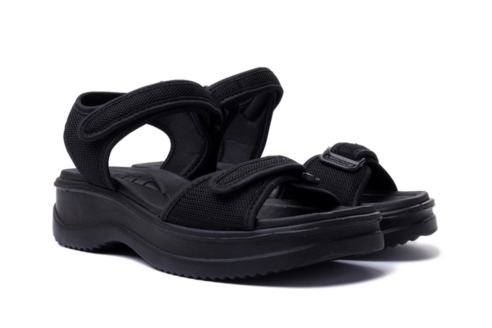 AZALEIA 320/321 black/black, sandały damskie, sklep internetowy e-kobi.pl