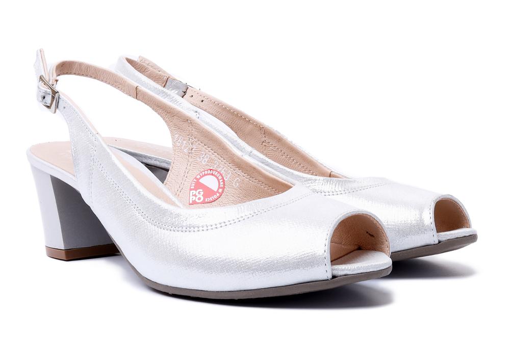 BIOECO BY ARKA 3763 2103+2103 srebrny, sandały damskie, sklep internetowy e-kobi.pl