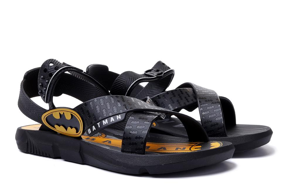 IPANEMA 22169 BATMAN BATMOVEL PROMO INF 20566 black/yellow, sandały dziecięce, rozmiary 27-, sklep internetowy e-kobi.pl
