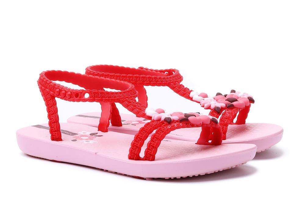 IPANEMA 83082 MY FIRST VI BABY 20697 pink/red, sandały dziecięce, rozmiary 21-, sklep internetowy e-kobi.pl