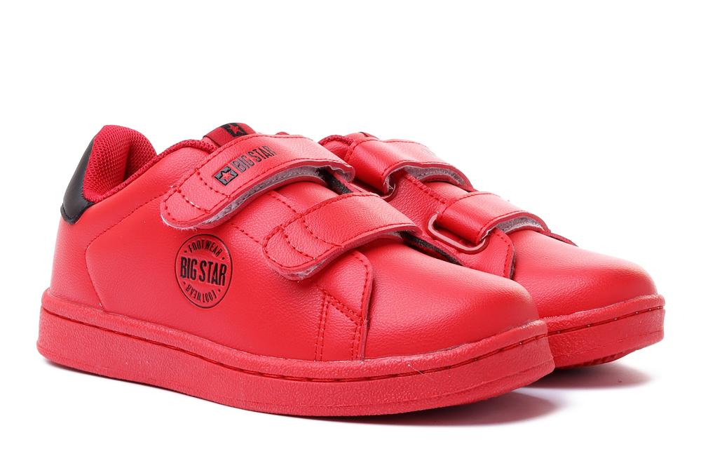 BIG STAR DD374030 czerwony, półbuty dziecięce, rozmiary 30-, sklep internetowy e-kobi.pl
