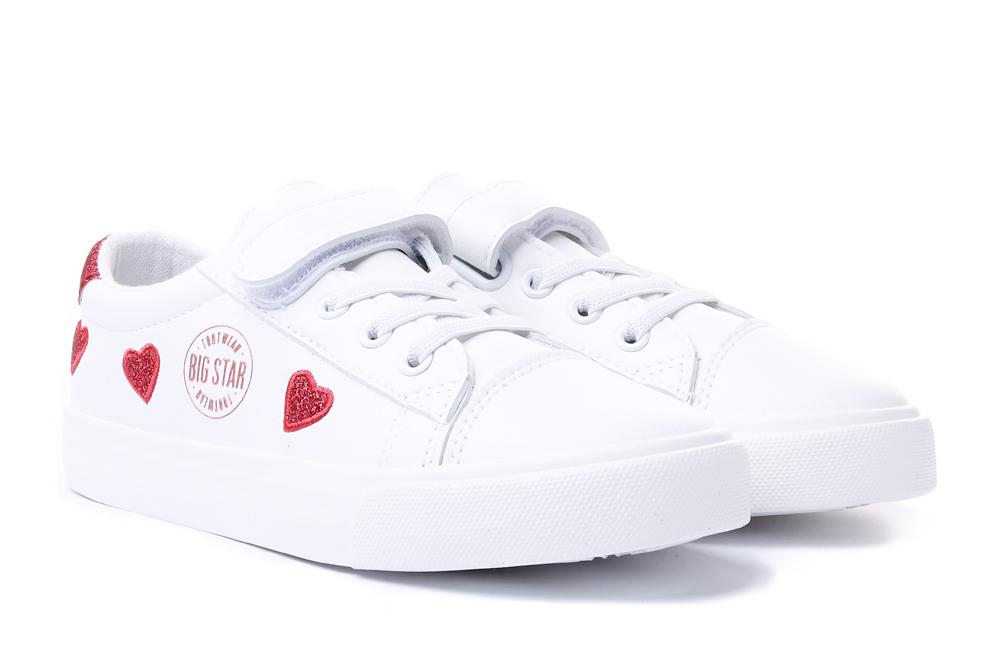 BIG STAR HH374001 biały, póbuty sportowe dziecięce, sklep internetowy e-kobi.pl