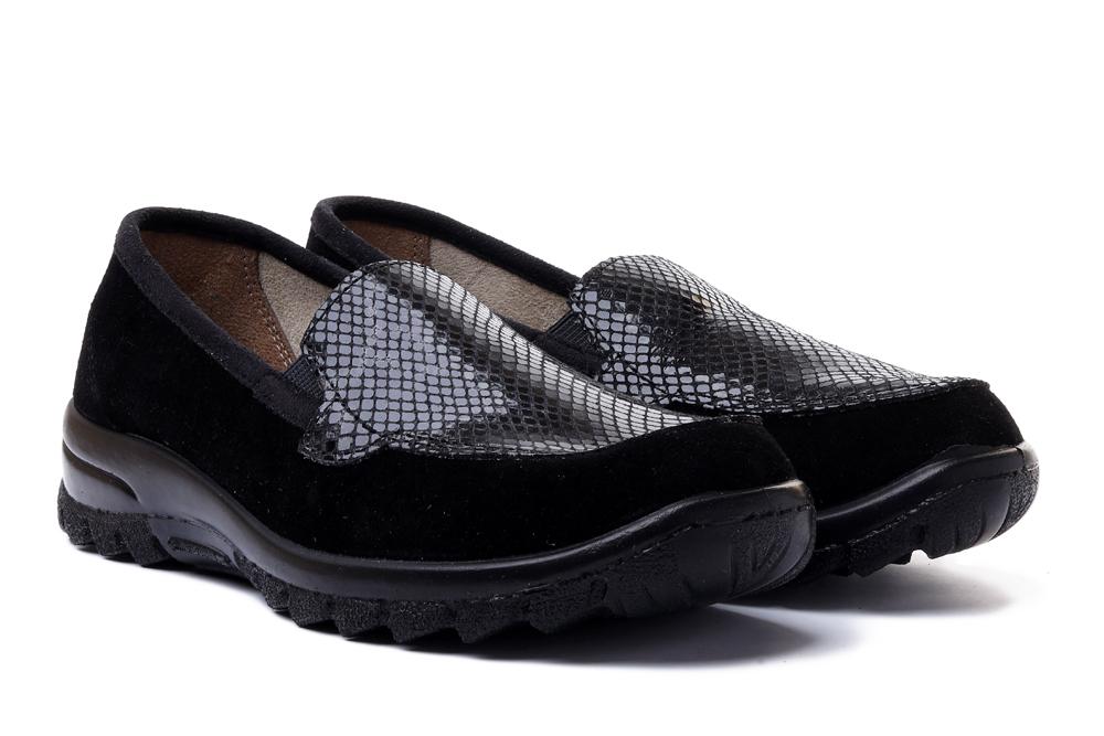 BEFADO DR ORTO CASUAL 156D 100 czarny, obuwie profilaktyczne damskie, sklep internetowy e-kobi.pl