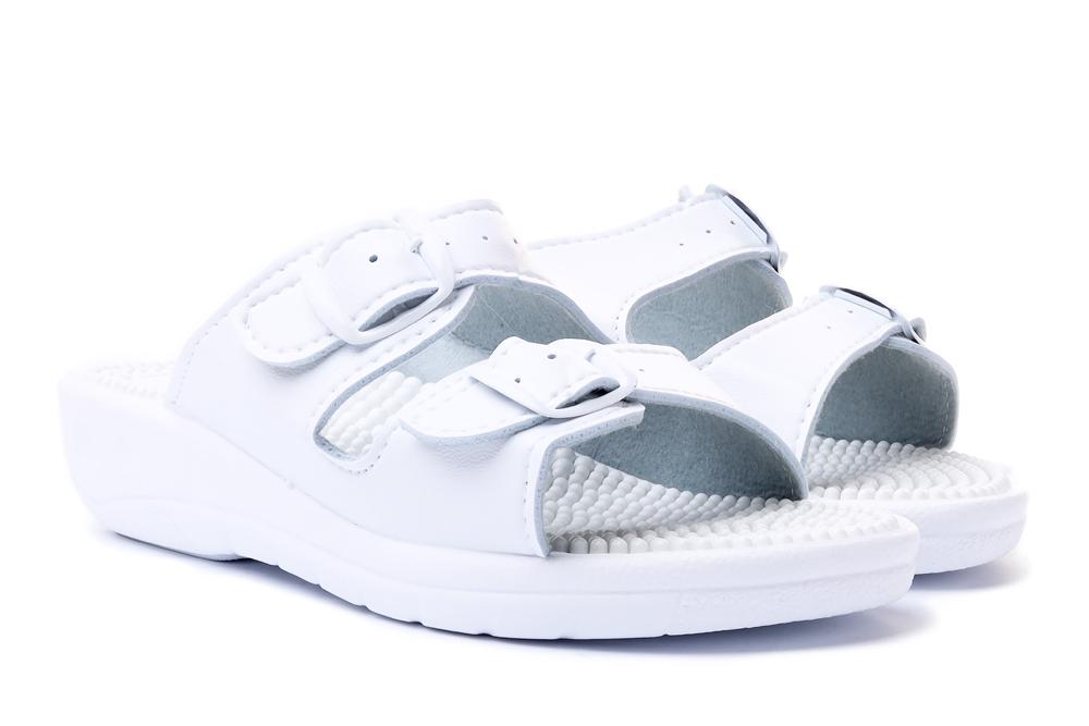 SANITAL FLEX KF-02 biały, klapki profilaktyczne damskie, sklep internetowy e-kobi.pl