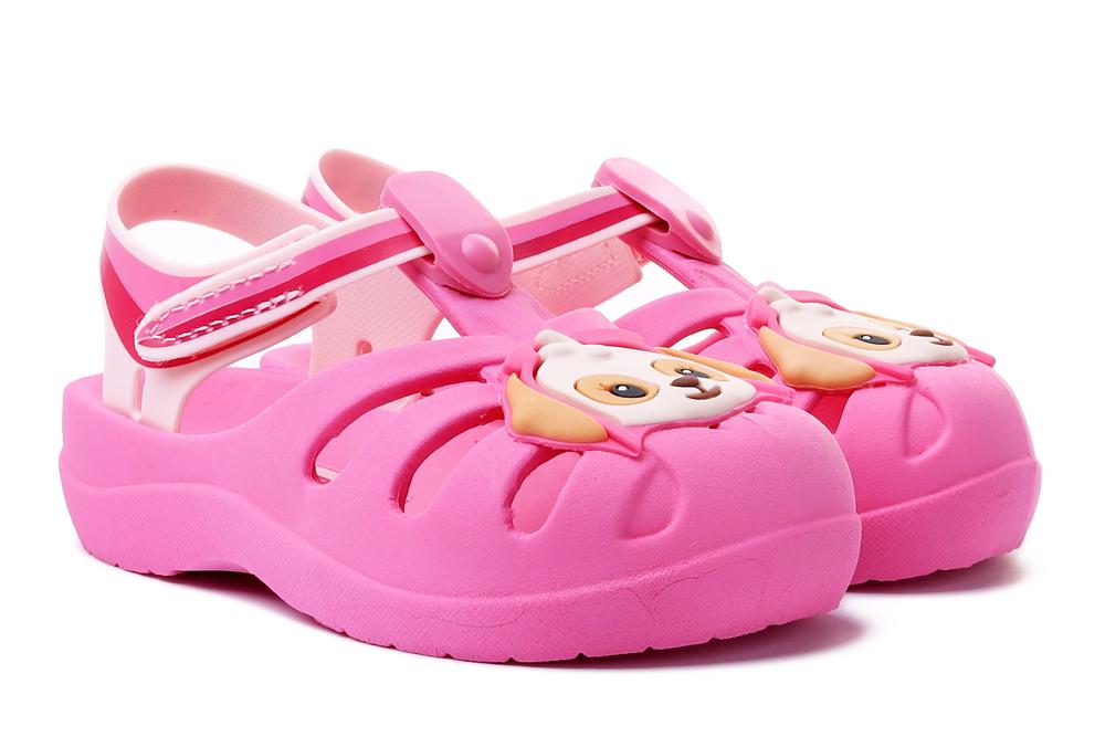 IPANEMA 21994 PATRULHA CANINA FRIENDS 20197 pink/pink, sandały dziecięce, rozmiary 21-, sklep internetowy e-kobi.pl
