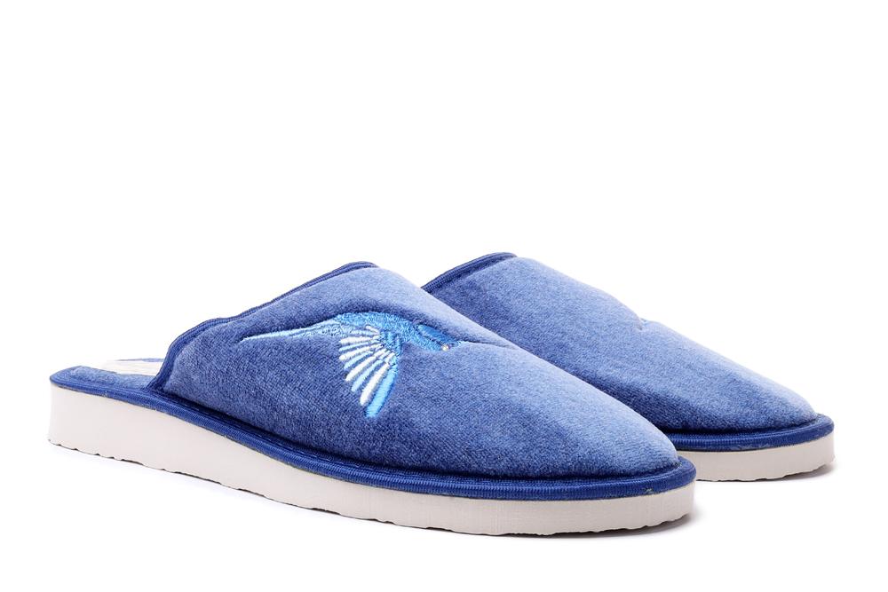 METEOR 038 SANDRA niebieski, kapcie/klapki damskie, sklep internetowy e-kobi.pl