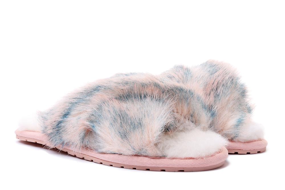 EMU AUSTRALIA W12378 MAYBERRY LAVA pink, kapcie/klapki damskie, sklep internetowy e-kobi.pl