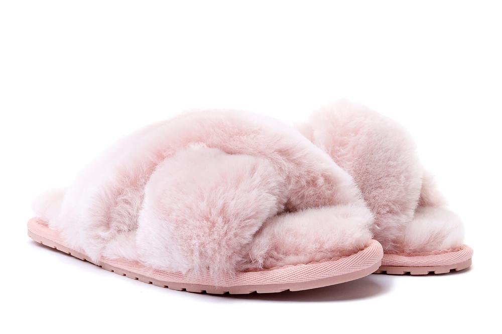 EMU AUSTRALIA W12013 MAYBERRY FROST musk pink, kapcie/klapki damskie, sklep internetowy e-kobi.pl